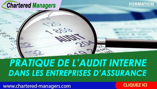 Pratique de l'Audit Interne dans les Entreprises d'Assurance -