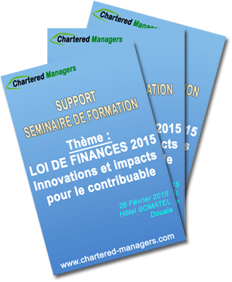 support seminaire loi de finances